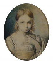 Портрет Александры Николаевны Гончаровой