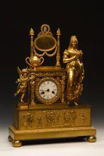 Часы каминные «Туалет Венеры»