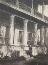 Терраса главного дома в Полотняном заводе